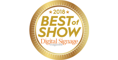 Digital Signage Best of Show Winners Announced at InfoComm 2018